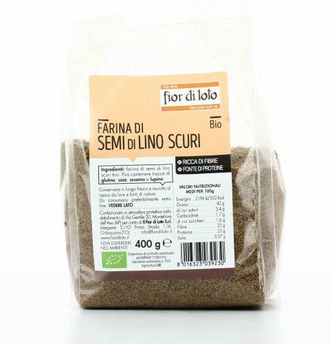 Farina di Semi di Lino Scuri Bio