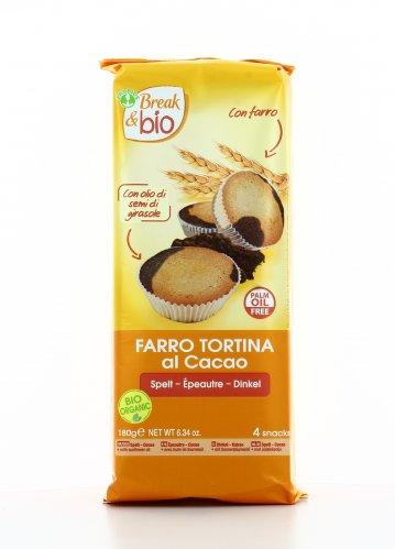 Tortina di Farro al Cacao