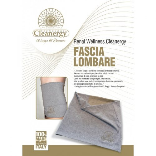 Fascia Lombare Renal Wellness Cleanergy