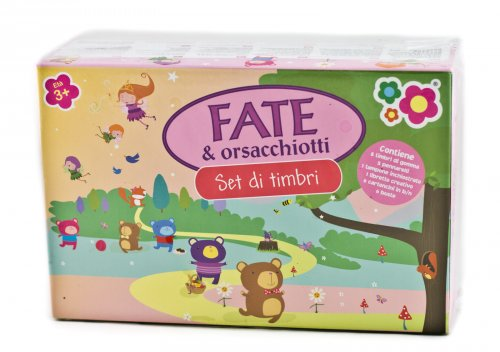 Set di Timbri - Fate & Orsacchiotti