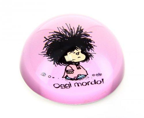 Fermacarte - Mafalda: Oggi Mordo!