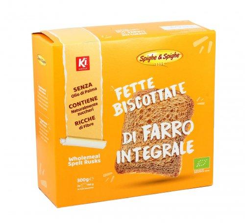 Fette Biscottate Integrali al Farro