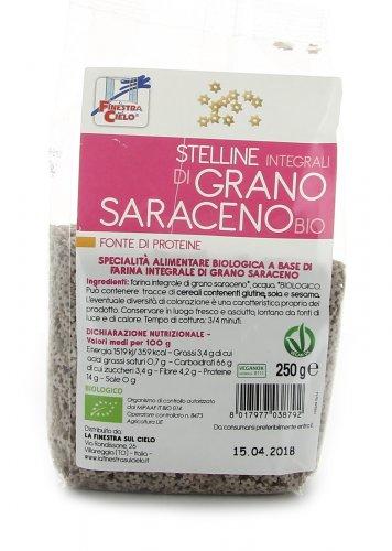 Stelline Integrali di Grano Saraceno Bio