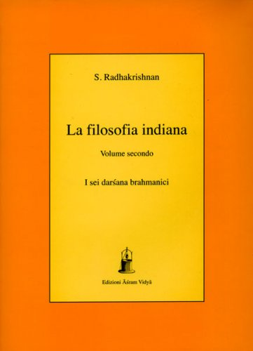 Filosofia Indiana - Volume Secondo