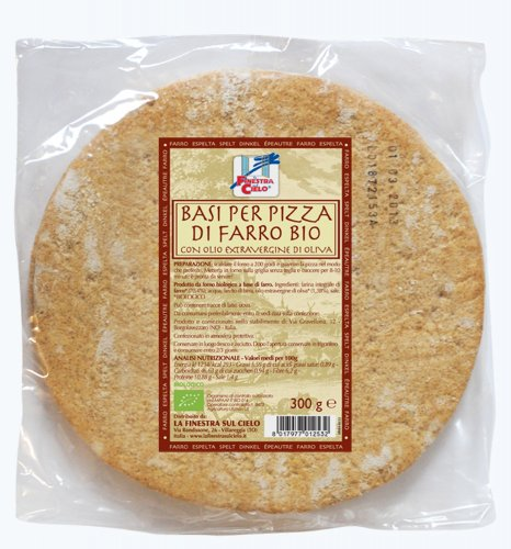 Base per Pizza di Farro Bio