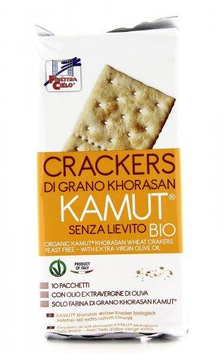 Crackers KAMUT® - grano khorasan Bio senza Lievito