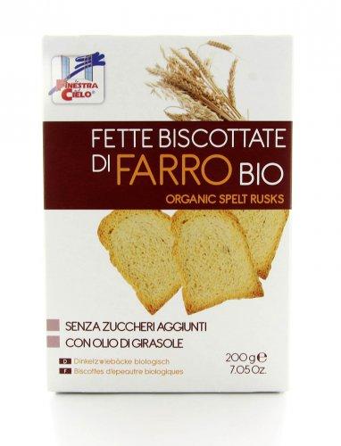 Fette Biscottate di Farro Biologiche