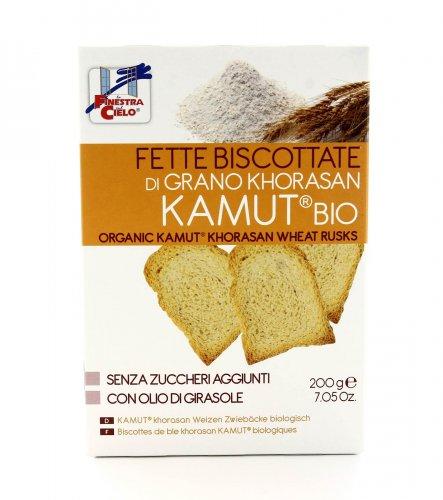 Fette Biscottate KAMUT® - grano khorasan Biologico