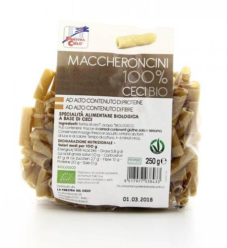 Maccheroncini 100% Ceci