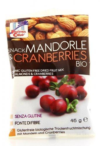 Snack Mandorle e Cranberries