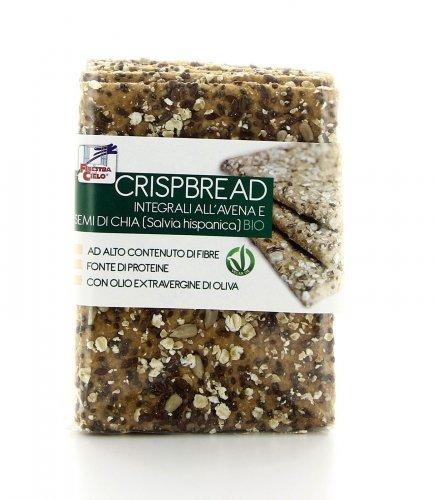 Crispbread Integrali - Avena e Semi di Chia Bio