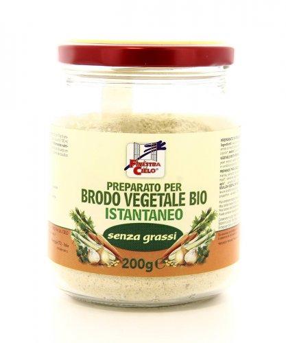 Preparato per Brodo Vegetale Bio Istantaneo