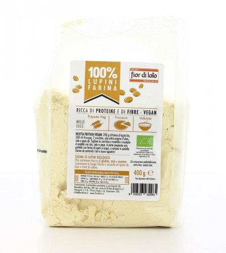 100% Lupino - Farina di Lupini Bio