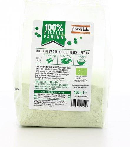 100% Piselli - Farina di Piselli Bio