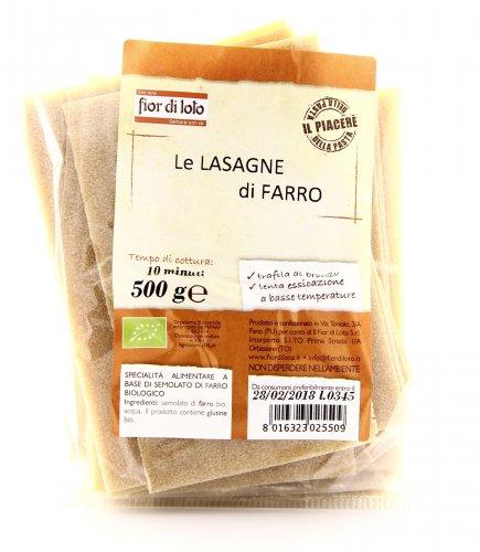 Lasagne di Farro