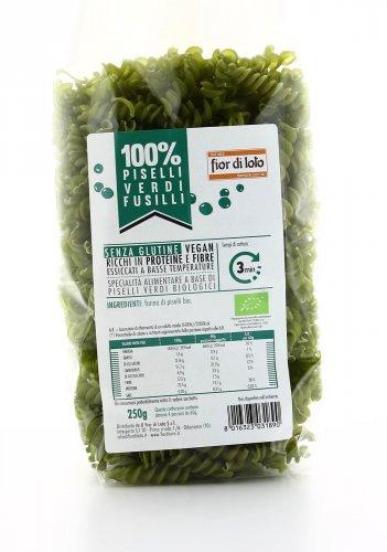 100% Piselli - Fusilli di Piselli Verdi Bio