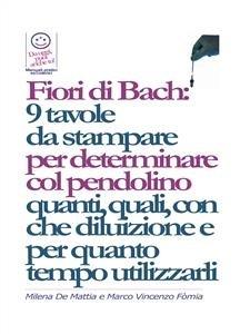 Fiori di Bach: 9 Tavole da Stampare (eBook)