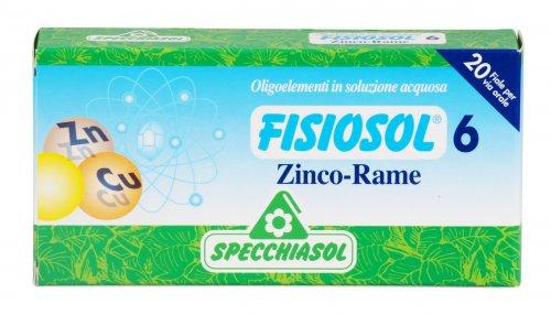 Fisiosol 6 - Zinco-Rame