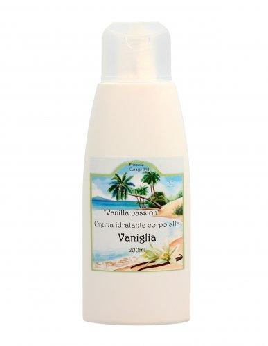 Crema Fluida Idratante al Profumo di Vaniglia