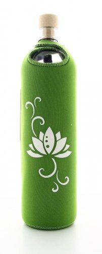 Bottiglia Vetro Programmato Design Lotus