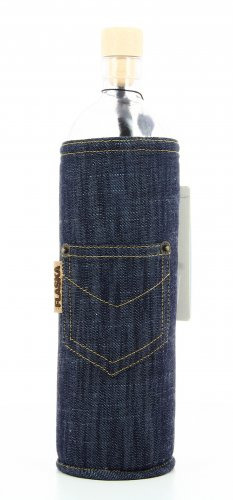 Bottiglia Vetro Programmato - Jeans
