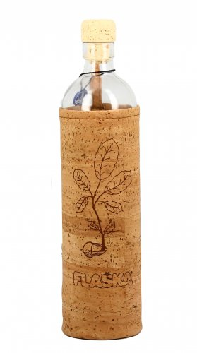 """Bottiglia Vetro Programmato Natural Cork """"The New Beginning"""""""