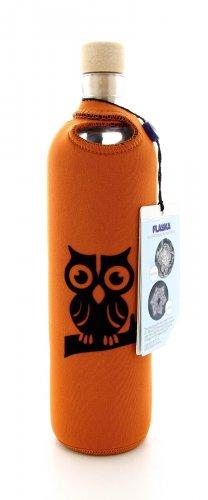 Bottiglia Vetro Programmato Neo Design Owl on The Branch