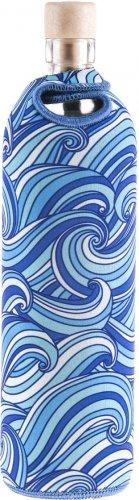 Bottiglia Vetro Programmato Neo Design Waves