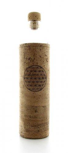 Bottiglia Vetro Programmato - Spiritual Flower Of Life