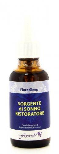 Formula Spray a Base di Essenze Floreali e Oli Essenziali - Flora-Sleep