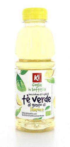Foglie in Bottiglia - Tè Verde al Limone Bio