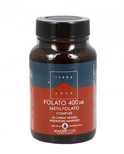 Folato 400 μg - Metilfolato Complex