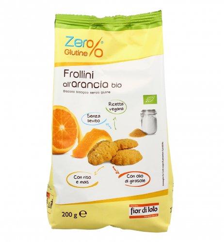 Zero Glutine - Frollini di Riso all'Arancia Bio