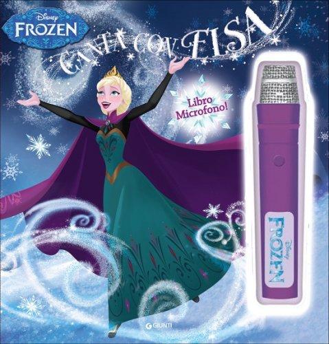 Frozen. Libro Microfono