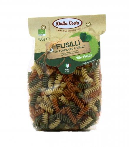 Pasta Bio con Pomodoro e Spinaci - Fusilli