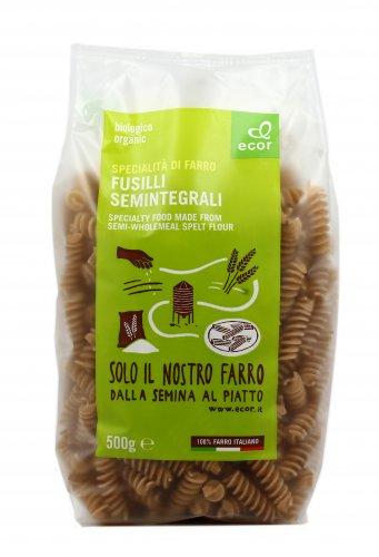 Pasta Bio Semintegrali di Farro - Fusilli