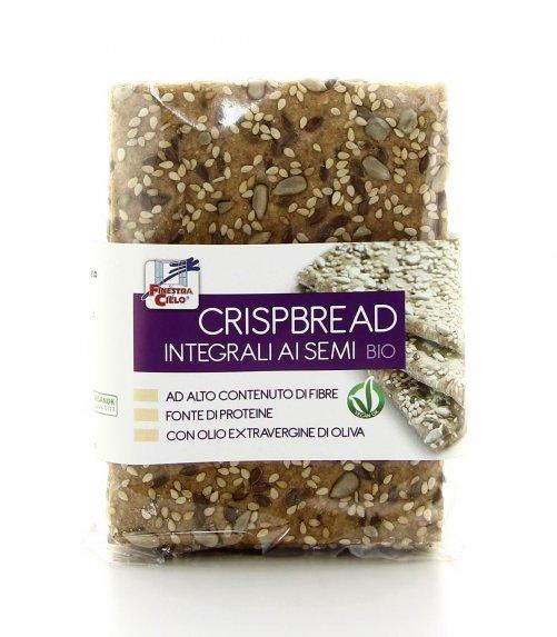 Crispbread integrali semi bio la finestra sul cielo - Finestra sul cielo ...