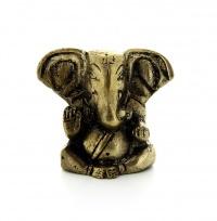 Ganesha con grandi Orecchie - Statua in Ottone