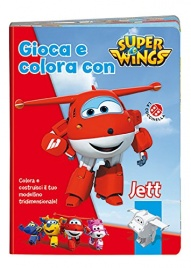 Super Wings - Gioca e Colora con Jett