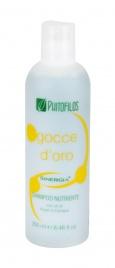 Gocce d'Oro - Shampoo Nutriente con Oli di Argan e Canapa