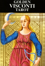 Golden Visconti Tarot - 22 Arcani Maggiori