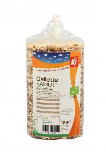 Gallette KAMUT® - grano khorasan - Buonbio