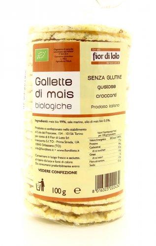Gallette di Mais Bio - 100 gr.