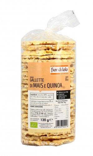 Gallette di Mais e Quinoa