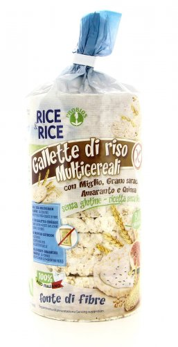 Rice & Rice - Gallette di Riso Multicereali