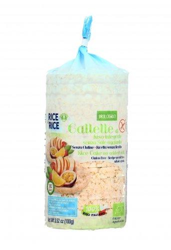 Gallette di Riso Bio Integrale Senza Sale Aggiunto - Rice&Rice