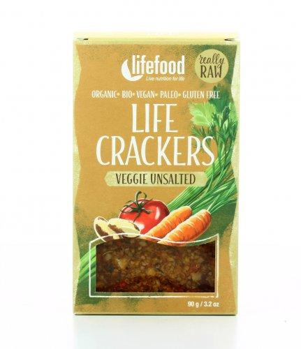 Pane Croccante Non Salato alle Verdure