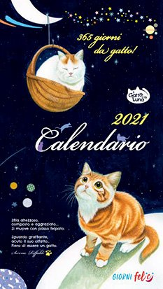 365 Giorni da Gatto! 2021 - Calendario Medio