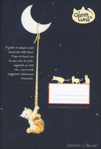 Il Gatto e la Luna - Little Travel Notebook