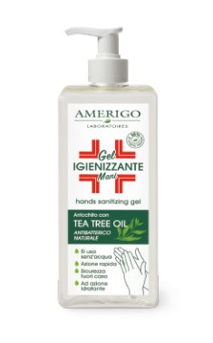 Gel Igienizzante Mani Tea Tree Oil - 250 ml